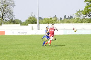 James Lemon gives chase v Moors Academy (A) photo courtesy of Mathew Mason