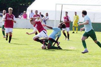 Haydn Morris vs Coventry United - photo courtesy of Mathew Mason