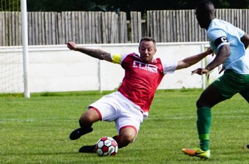 Andy Crowther vs Coventry United - photo courtesy of Mathew Mason