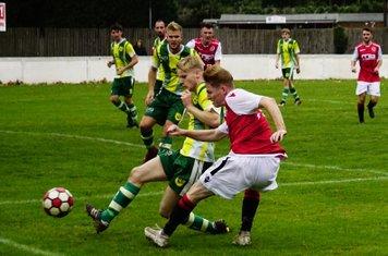 Haydn Morris vs Gornal Athletic (H) photo courtesy of Mathew Mason