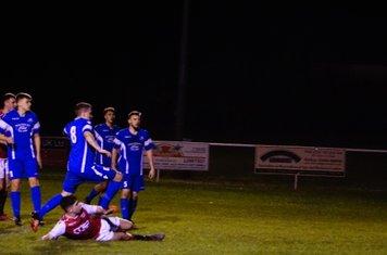 Curtis Townley  vs Bromyard Town (A) photo courtesy of Mathew Mason
