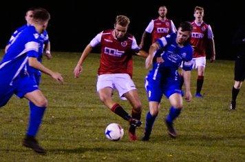 Ben Tilbury  vs Bromyard Town (A) photo courtesy of Mathew Mason