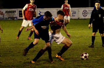 Jack Davies vs Telford Juniors (H) photo courtesy of Mathew Mason