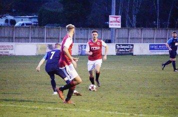 Jack Allerton vs Telford Juniors (H) photo courtesy of Mathew Mason