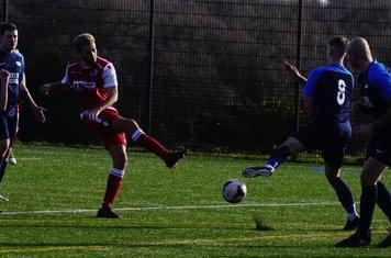 Ben Tilbury vs Telford Juniors (A) photo courtesy of  Mathew Mason