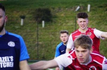 Max Crsip & Cory Rudd vs Telford Juniors (A) photo courtesy of  Mathew Mason