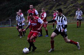 Andy Crowther vs Tipton Town (A) photo courtesy of Mathew Mason