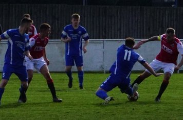 Andy Crowther vs Bromyard Town (H) photo courtesy Mathew Mason