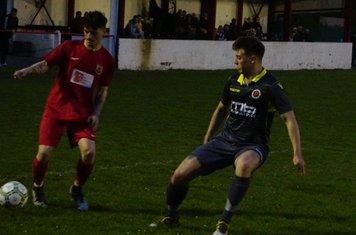 Max Crisp vs Willenhall Town (A) photo courtesy of Mathew Mason