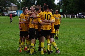 2nd goal celebrations - photo courtesy of Mathew Mason