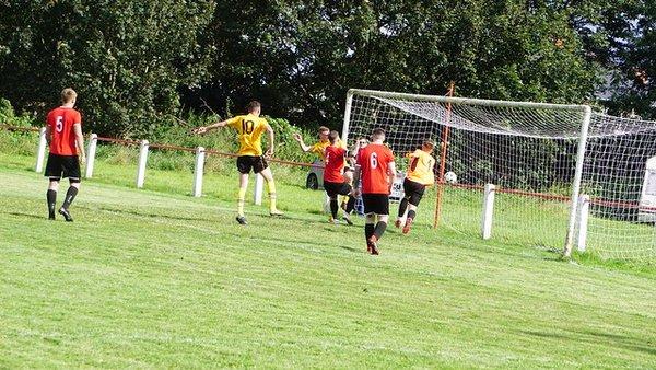 Collins nets the opener- photo courtesy of Mathew Mason