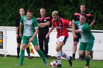 Ben Tilbury vs Allscott Heath (H)- photo courtesy of Mathew Mason
