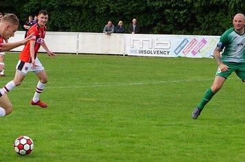 Alex Dugmore vs Allscott Heath (H)- photo courtesy of Mathew Mason