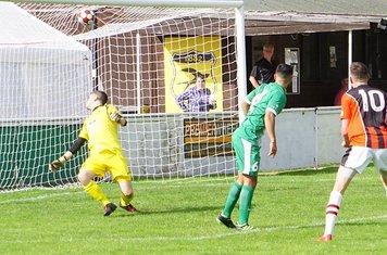 Lemon makes it 2-1 vs Allscott Heath (H)- photo courtesy of Mathew Mason