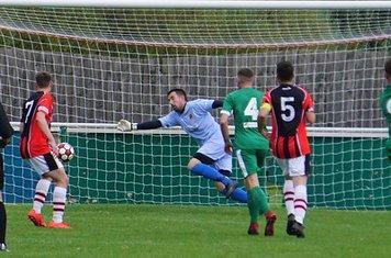 Allscott equalise vs Allscott Heath (H)- photo courtesy of Mathew Mason