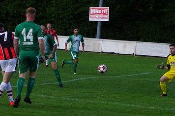 Jack Davies vs Allscott Heath (H)- photo courtesy of Mathew Mason