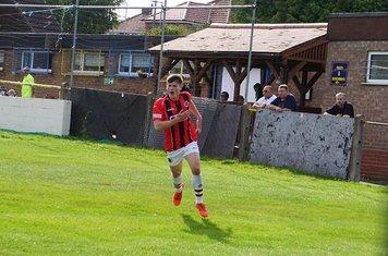 Jack Davies scores vs Tividale (A) photo courtesy of Mathew Mason