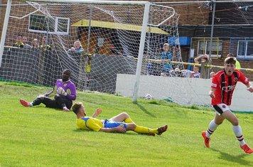 Jack Davies vs Tividale (A) photo courtesy of Mathew Mason