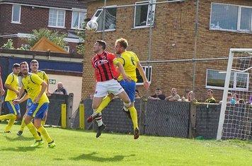 Matty Hunt vs Tividale (A) photo courtesy of Mathew Mason