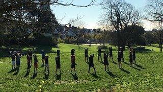 Training @ Queen's Park - 22nd November 2015