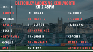 Bletchley Vs Kenilworth Team Selection