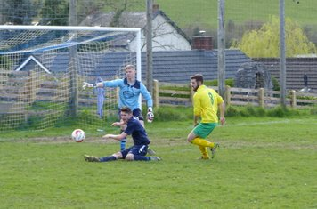 Cal Lavelle thwarted by the defence