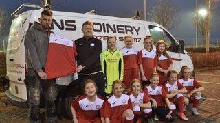 New kit sponsor for U12 Girls