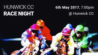 Fancy a flutter? Join us for a night at the races at Hunwick CC!