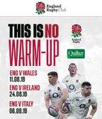 England's Quilter Internationals 2019 - Tickets still available