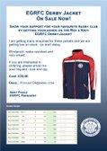 EGRFC Derby Jacket - On Sale Now