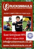 EGRFC Announce Exciting New Zealand Summer Rugby Camp!