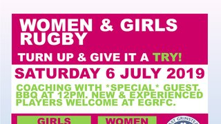 *FREE* RUGBY TASTER SESSIONS FOR WOMEN & GIRLS!