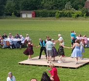 90th Tea Party Goes with a Swing!
