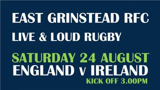 LIVE THIS SATURDAY - ENGLAND v IRELAND