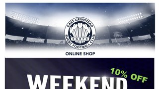** EGRFC ONLINE SHOP DISCOUNT WEEKEND **
