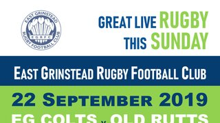 Huge Rugby Action this Sunday!