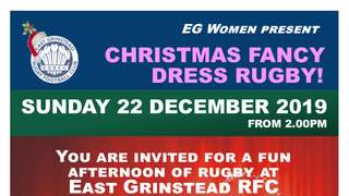 CHRISTMAS FANCY DRESS RUGBY!