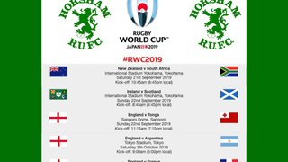 Rugby World Cup 2019 - Pool Games