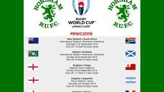 RWC 2019 - Pool games
