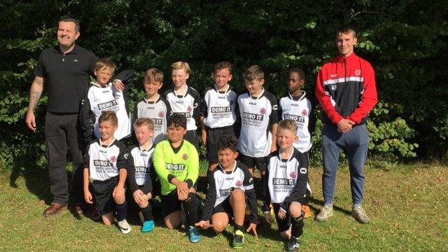 Harefield Utd U15 Whites