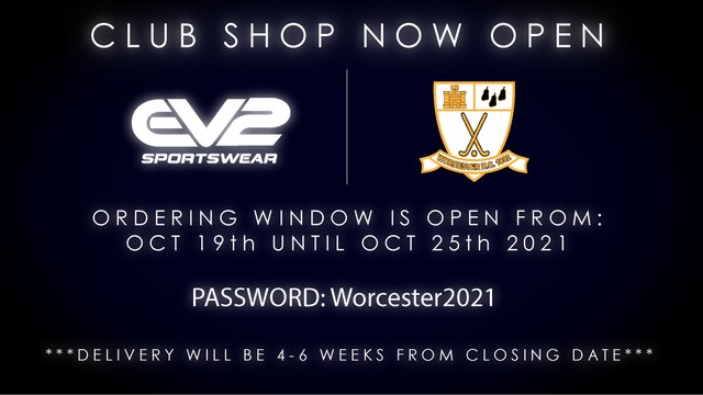 Club kit purchasing window is now open until 25/10/21!