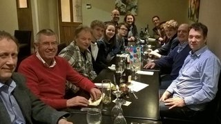 Men's 8's End of Season Curry with some Badger Pippins special guests!