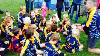 Under 7s festival debut at Chobam Rugby Club