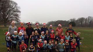 Christmas rugby fun 2017