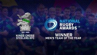 Kings Cross Steelers win Men's Team of the Year