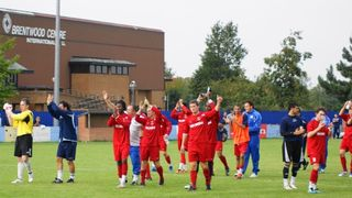Away to Brentwood Town 24/09/11