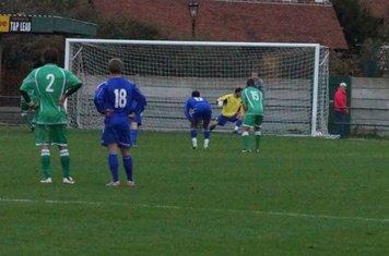 Penalty put away.___2-1down.