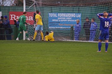 Dave can,t believe they,ve got it off the goal line(60th min).