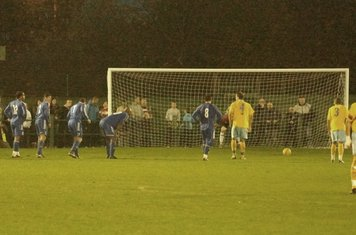 Canvey 2nd penalty-88 min.