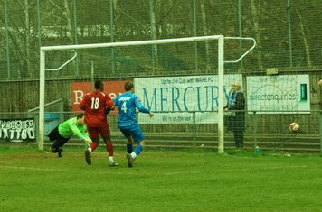 INTO THE NET. EQUALISER. SCORE 1-1.